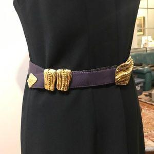 VTG Escada Leather Belt